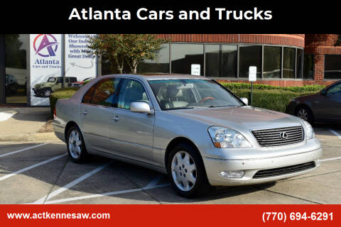 2003 Lexus LS 430 for sale at Atlanta Cars and Trucks in Kennesaw GA