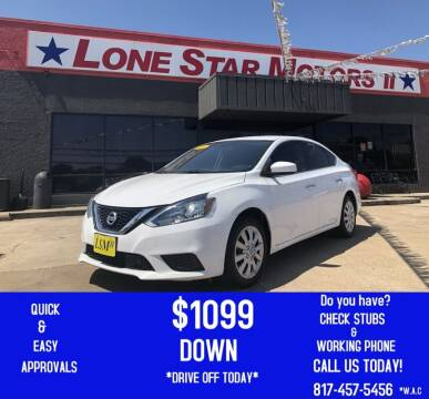 2018 Nissan Sentra for sale at LONE STAR MOTORS II in Fort Worth TX