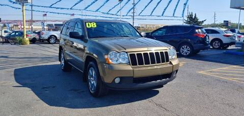 2008 Jeep Grand Cherokee for sale at I-80 Auto Sales in Hazel Crest IL