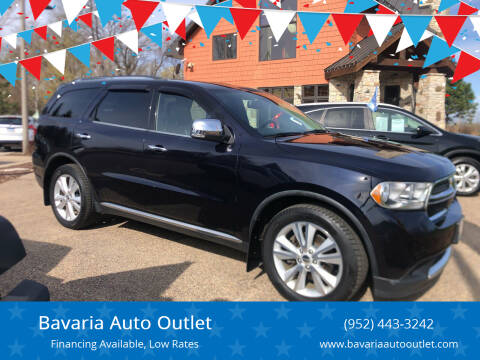 2011 Dodge Durango for sale at Bavaria Auto Outlet in Victoria MN