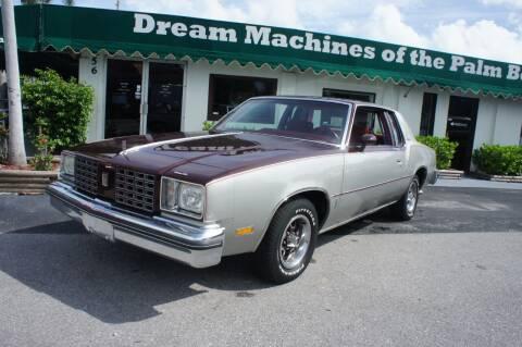 1979 Oldsmobile Cutlass Supreme for sale at Dream Machines USA in Lantana FL