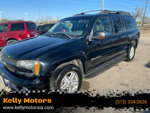 2003 Chevrolet TrailBlazer for sale at Kelly Motors in Johnston IA