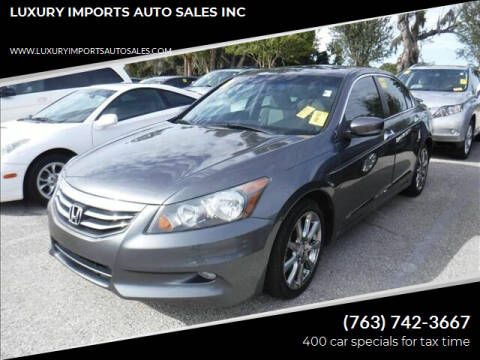 2011 Honda Accord for sale at LUXURY IMPORTS AUTO SALES INC in North Branch MN