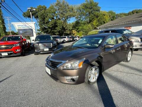 2013 Nissan Altima for sale at Sports & Imports in Pasadena MD