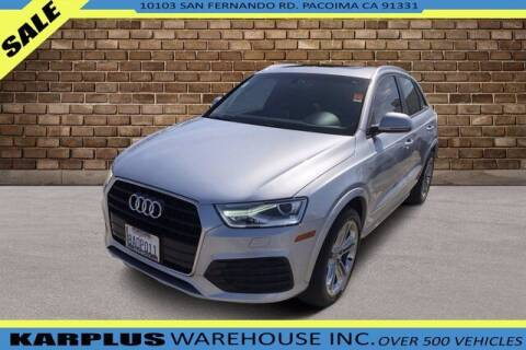 2018 Audi Q3 for sale at Karplus Warehouse in Pacoima CA