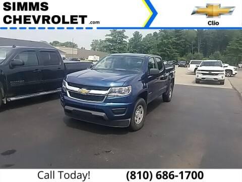 2019 Chevrolet Colorado for sale at Aaron Adams @ Simms Chevrolet in Clio MI