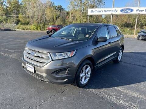 2016 Ford Edge for sale at MATHEWS FORD in Marion OH