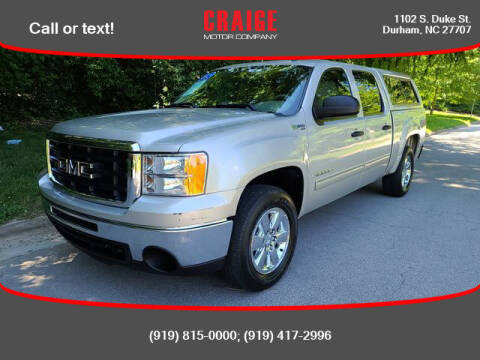 2009 GMC Sierra 1500 Hybrid for sale at CRAIGE MOTOR CO in Durham NC