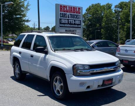 2007 Chevrolet TrailBlazer for sale at Reliable Cars & Trucks LLC in Raleigh NC