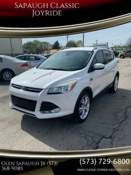 2014 Ford Escape for sale at Sapaugh Classic Joyride in Salem MO