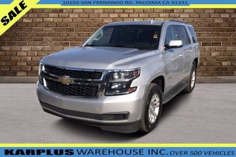 2018 Chevrolet Tahoe for sale at Karplus Warehouse in Pacoima CA