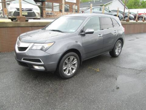 2011 Acura MDX for sale at WORKMAN AUTO INC in Pleasant Gap PA