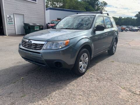 2009 Subaru Forester for sale at Manchester Auto Sales in Manchester CT