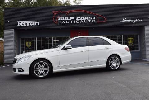 2010 Mercedes-Benz E-Class for sale at Gulf Coast Exotic Auto in Biloxi MS