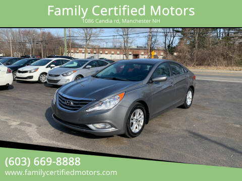 2013 Hyundai Sonata for sale at Family Certified Motors in Manchester NH
