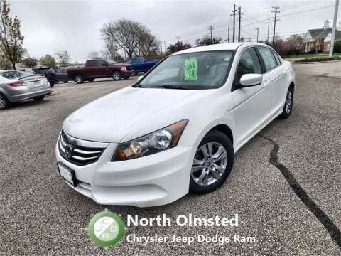 2012 Honda Accord for sale at North Olmsted Chrysler Jeep Dodge Ram in North Olmsted OH