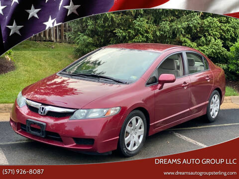 2010 Honda Civic for sale at Dreams Auto Group LLC in Sterling VA