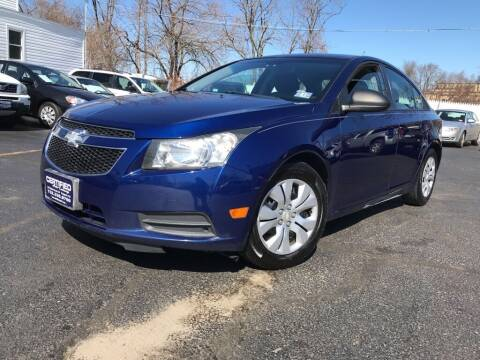 2013 Chevrolet Cruze for sale at Certified Auto Exchange in Keyport NJ