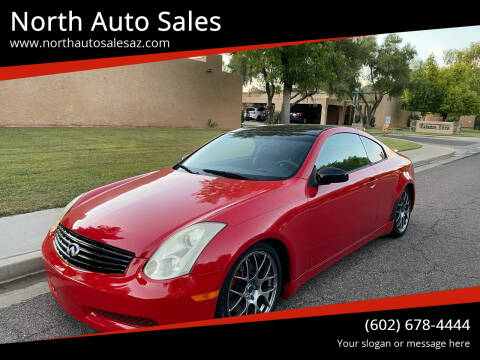 2006 Infiniti G35 for sale at North Auto Sales in Phoenix AZ