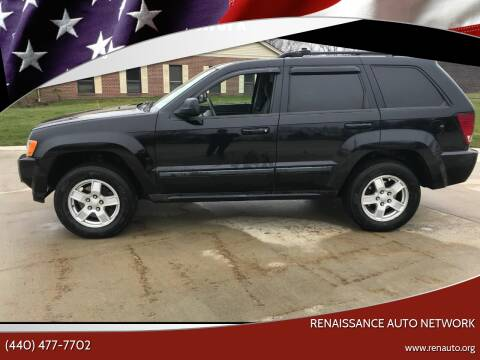 2007 Jeep Grand Cherokee for sale at Renaissance Auto Network in Warrensville Heights OH