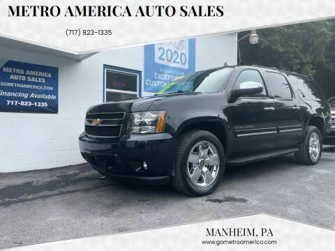 2012 Chevrolet Suburban for sale at METRO AMERICA AUTO SALES of Manheim in Manheim PA