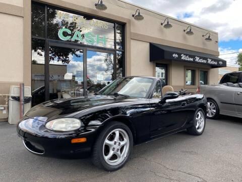 1999 Mazda MX-5 Miata for sale at Wilson-Maturo Motors in New Haven CT