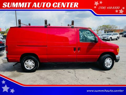 2007 Ford E-Series Cargo for sale at SUMMIT AUTO CENTER in Summit IL