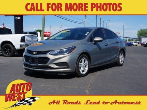 2018 Chevrolet Cruze for sale at Autowest Allegan in Allegan MI