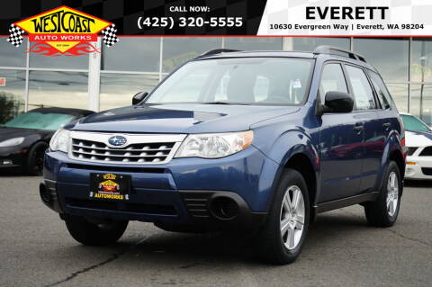 2011 Subaru Forester for sale at West Coast Auto Works in Edmonds WA