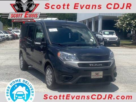 2020 RAM ProMaster City Wagon for sale at SCOTT EVANS CHRYSLER DODGE in Carrollton GA