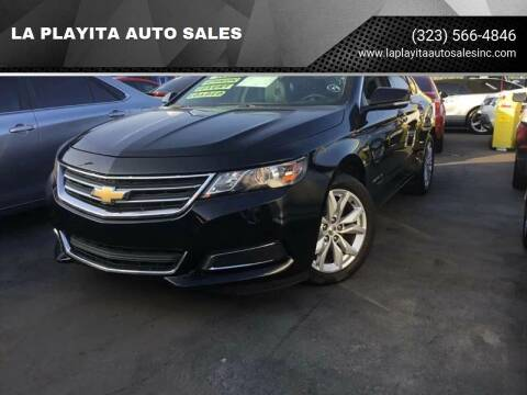 2017 Chevrolet Impala for sale at LA PLAYITA AUTO SALES INC in South Gate CA
