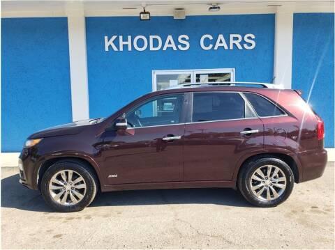 2013 Kia Sorento for sale at Khodas Cars in Gilroy CA