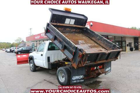 2003 GMC Sierra 3500 for sale at Your Choice Autos - Waukegan in Waukegan IL