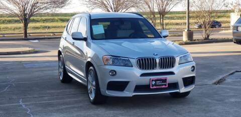 2011 BMW X3 for sale at America's Auto Financial in Houston TX