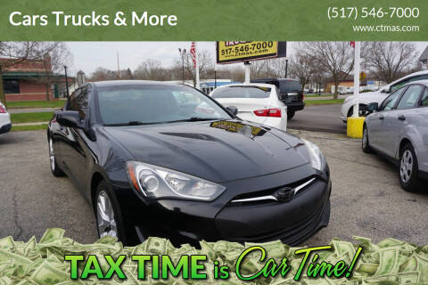 2013 Hyundai Genesis Coupe for sale at Cars Trucks & More in Howell MI