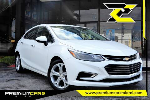 2018 Chevrolet Cruze for sale at Premium Cars of Miami in Miami FL