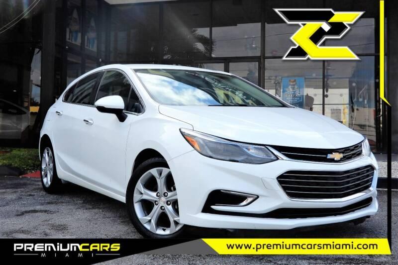 2018 Chevrolet Cruze for sale at Premium Cars of Miami in Miami FL
