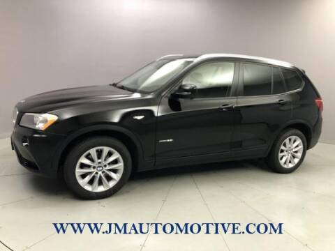 2014 BMW X3 for sale at J & M Automotive in Naugatuck CT