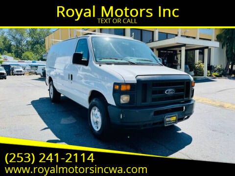 2011 Ford E-Series Cargo for sale at Royal Motors Inc in Kent WA