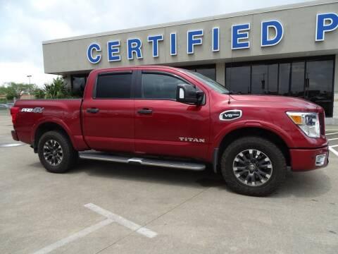 2017 Nissan Titan for sale at Mac Haik Ford Pasadena in Pasadena TX