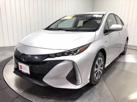 2020 Toyota Prius Prime for sale at HILAND TOYOTA in Moline IL