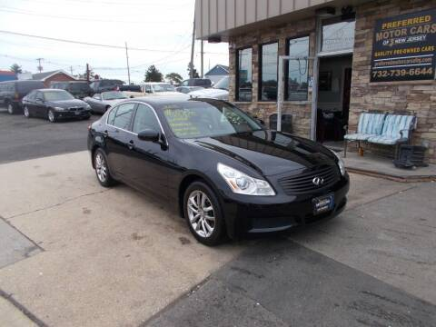2008 Infiniti G35 for sale at Preferred Motor Cars of New Jersey in Keyport NJ