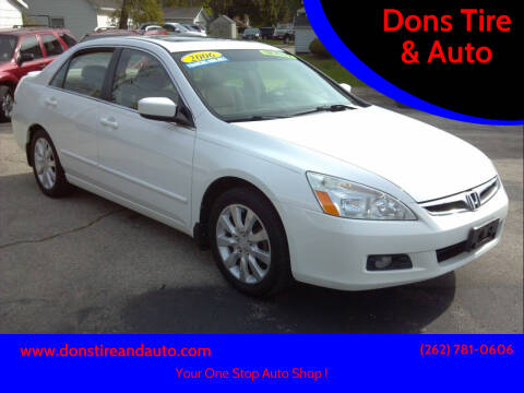 2006 Honda Accord for sale at Dons Tire & Auto in Butler WI