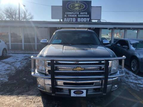 2013 Chevrolet Silverado 1500 for sale at BERG AUTO MALL & TRUCKING INC in Beresford SD