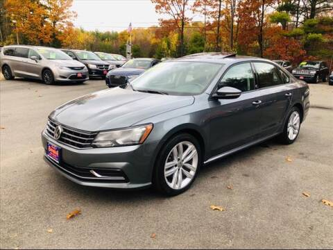 2019 Volkswagen Passat for sale at North Berwick Auto Center in Berwick ME