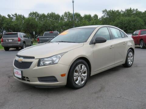 2012 Chevrolet Cruze for sale at Low Cost Cars North in Whitehall OH