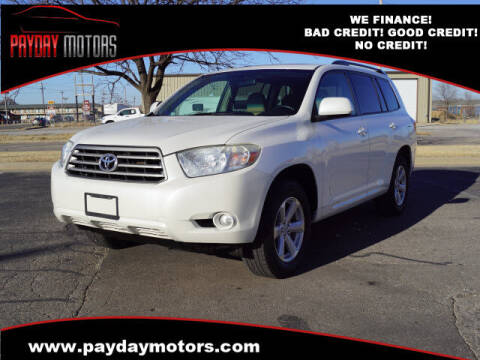 2010 Toyota Highlander for sale at Payday Motors in Wichita And Topeka KS