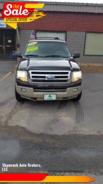 2007 Ford Expedition EL for sale at Shamrock Auto Brokers, LLC in Belmont NH