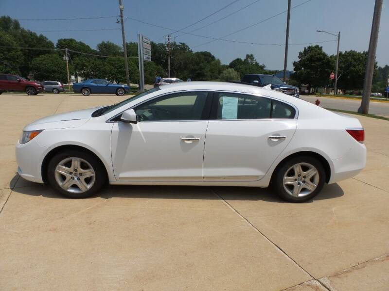 2010 Buick LaCrosse for sale at WAYNE HALL CHRYSLER JEEP DODGE in Anamosa IA