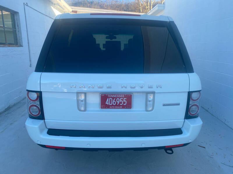 2012 Land Rover Range Rover 4x4 Supercharged 4dr SUV - Bristol TN